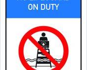no life guard on duty - nexus life coaching
